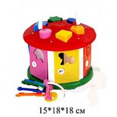 Куб «Розумний малюк» «Будиночок»