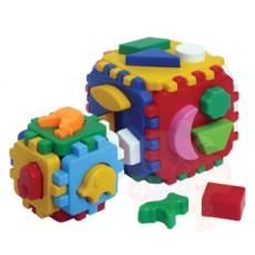 Куб «Розумний малюк 1+1»
