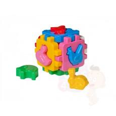 Куб «Розумний малюк», «Свійські тварини, с фигурками»