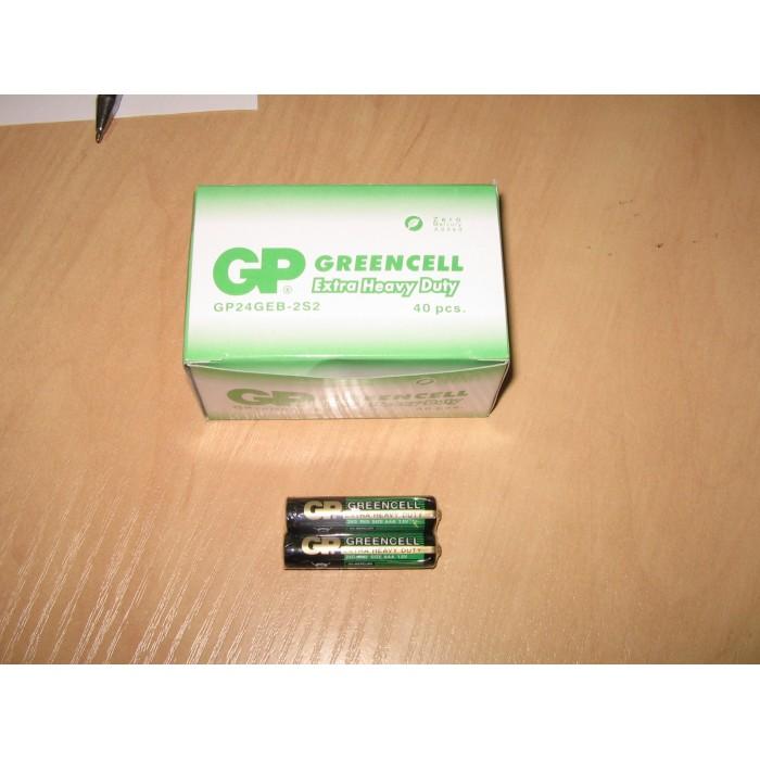 Батарейка GP 24G-S2 солевая R03, AAA, ЦЕНА ЗА УП. 40ШТ