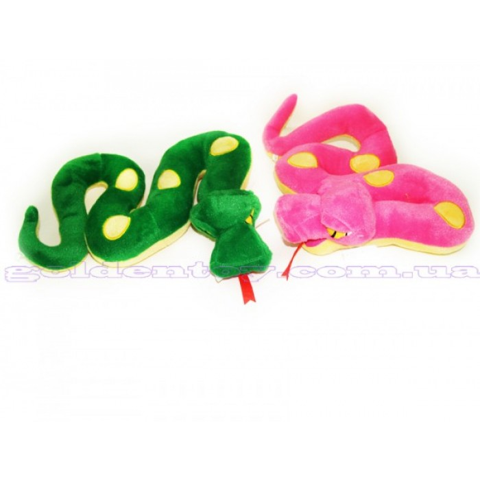 Змея мягкая с крылышками 25см