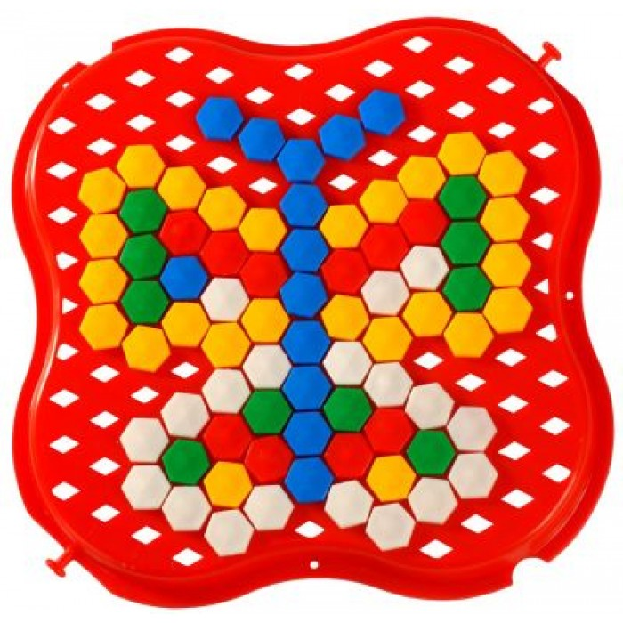 Игрушка развивающая «Мозаика» 130 элементов