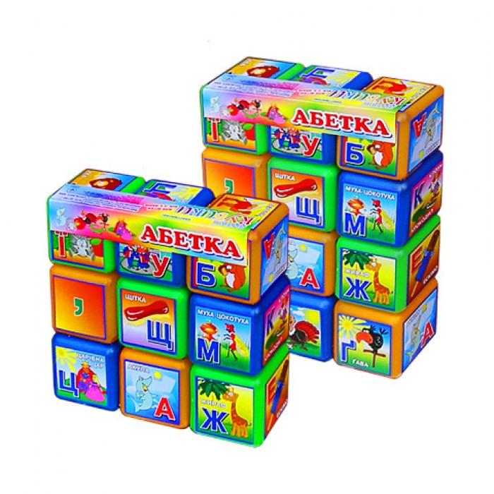 Кубики «Абетка» 9 шт