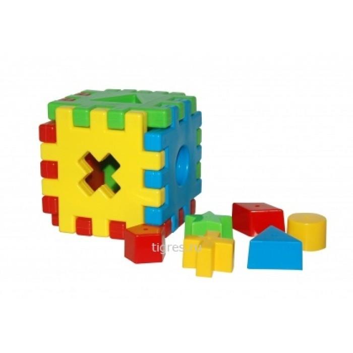 Игрушка развивающая «Волшебный куб» 12 элементов