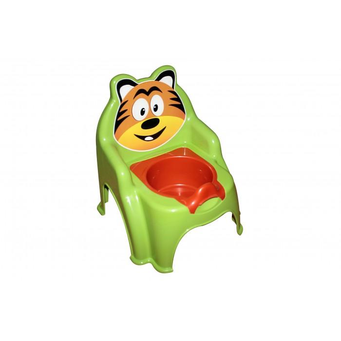 Горшок детский «Тигрёнок», салатовый