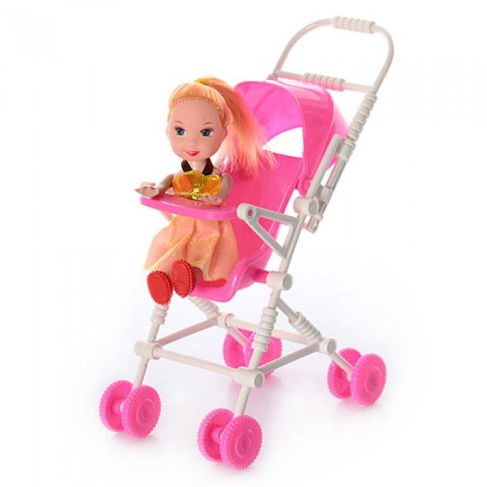 Кукла, 10см, с коляской