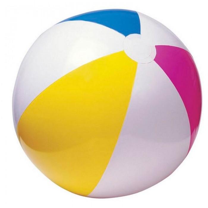 Мяч надувной разноцветный 61см