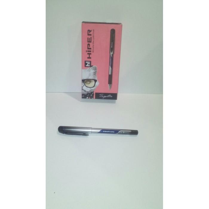 Ручка гелевая Hiper Signature, 0,6мм, синяя,цена за уп. 10шт
