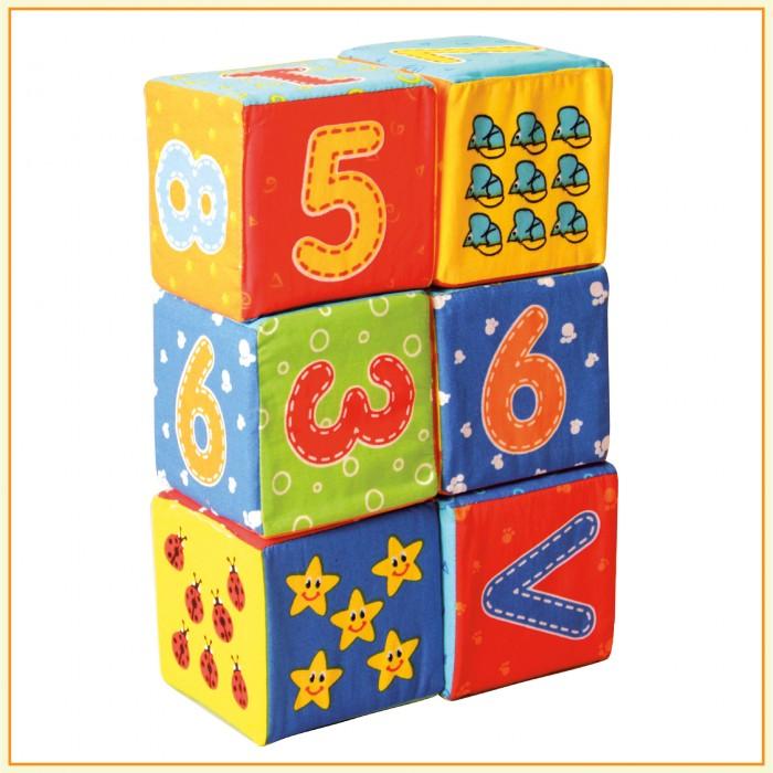 Набор мягких кубиков «Цифры»