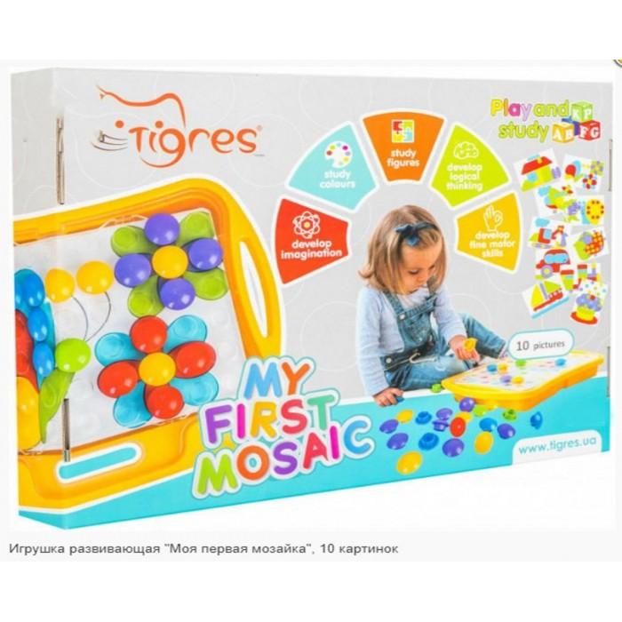 Игрушка развивающая «Моя первая мозайка» 10 картинок