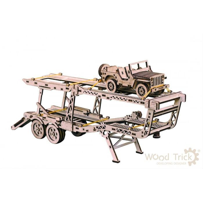Модель механическая «Прицеп Автовоз»