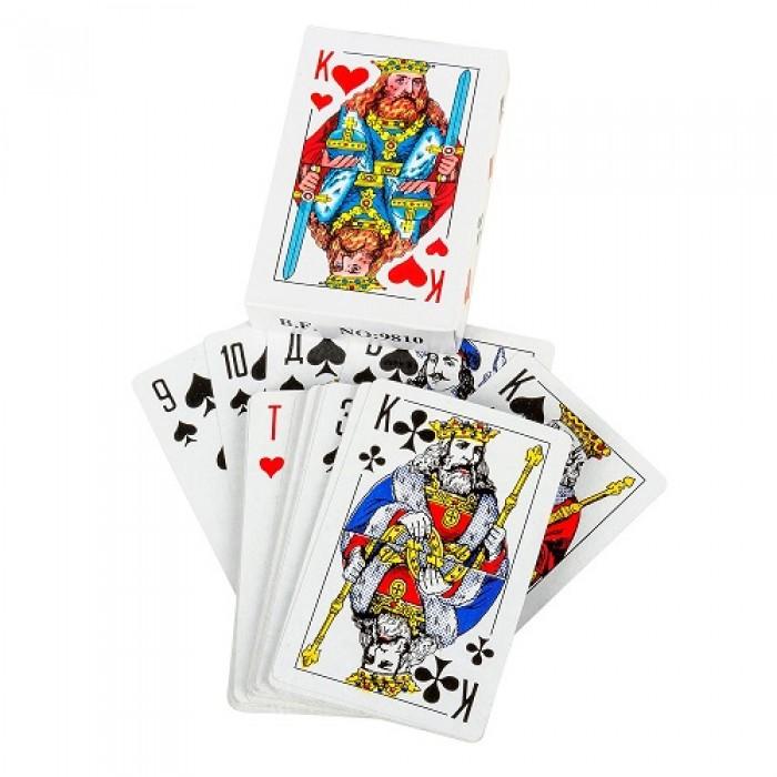Карты игральные Король, 54шт, ЦЕНА ЗА УП. 10ШТ