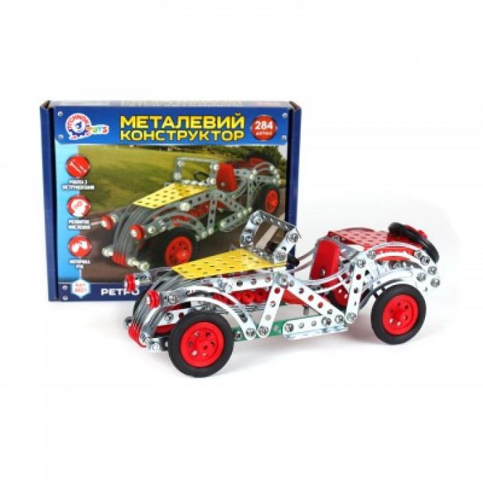 Конструктор металлический «Ретро автомобиль», 284 деталей