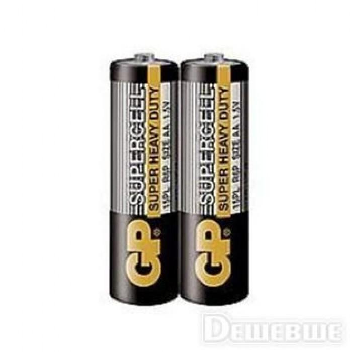 Батарейка GP SUPERCELL АА,15AUP-2S2, R6, ЦЕНА ЗА 40ШТ