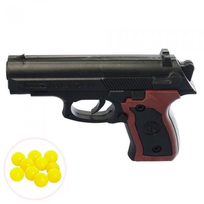 Пистолет на пульках 13см