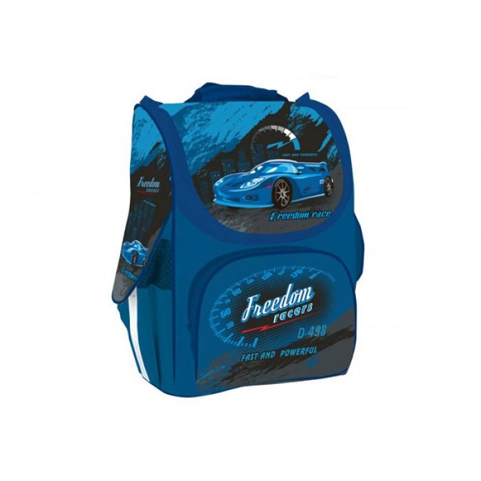 Рюкзак школьный «Car», каркасный, 1 основное отделение