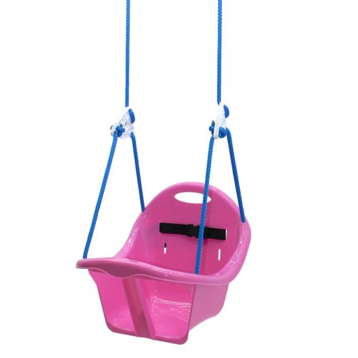 Качель подвесная «Лелека» розовая
