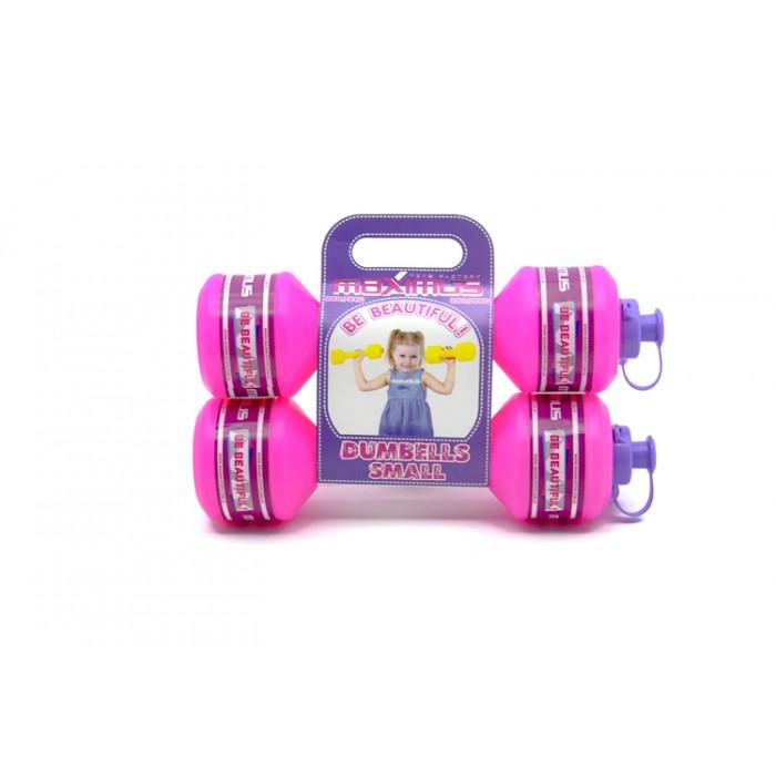 Гантель малая  розовая набор 2шт, вес 2*0,75кг