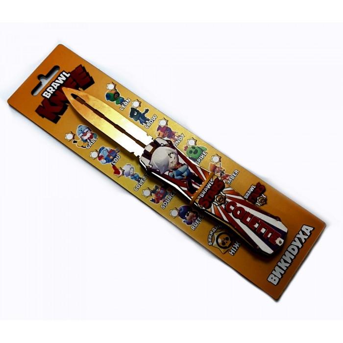 Нож деревянный «ВЫКИДУХА» BRAWL - COLETTE