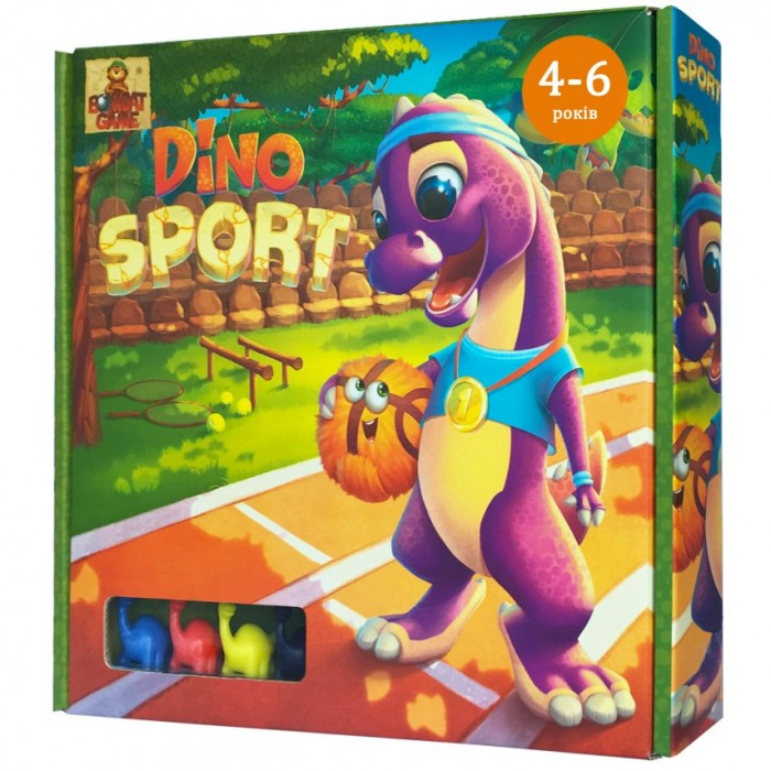 Игра настольна «DINO SPORT»