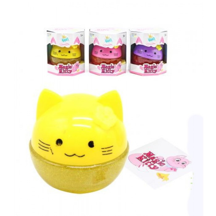 Лизун-антистресс ТМ Mr.Boo Magic Kitty 100мл -УКР
