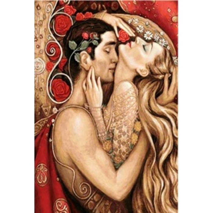Алмазная мозаика неоновая «Вечная любовь»30*40см
