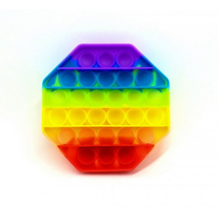 Антистресс сенсорная игруш Pop It Восьмиуг(12*12см)Силиконов