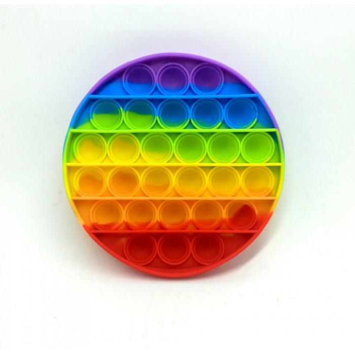 Антистресс сенсорная игрушка Pop It Круг(12*12см)  Силиконов
