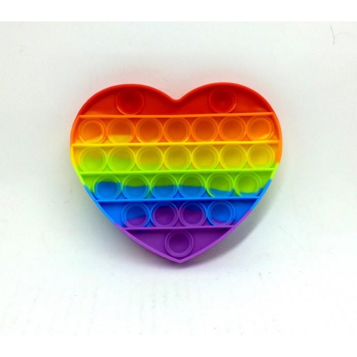 Антистресс сенсорная игрушка Pop It Сердце(12*14см)Силиконов