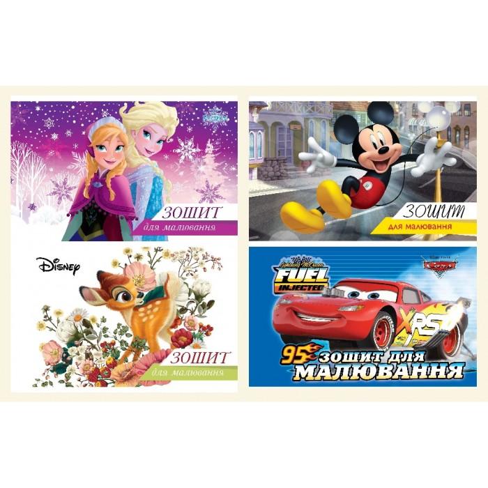 Альбом для рисования, 10л, на скобе с перфорацией Disney