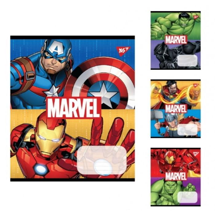 Набор тетрадей 12 лин. Avengers, цена за уп. 25шт