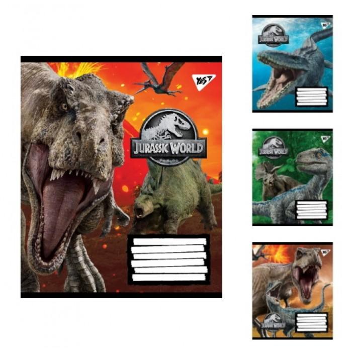 Набор тетрадей 12 лин. Jurassic World,цена за 25шт