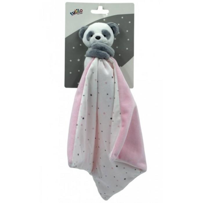 Игрушка-обнимашка «Панда», розовая, 35см