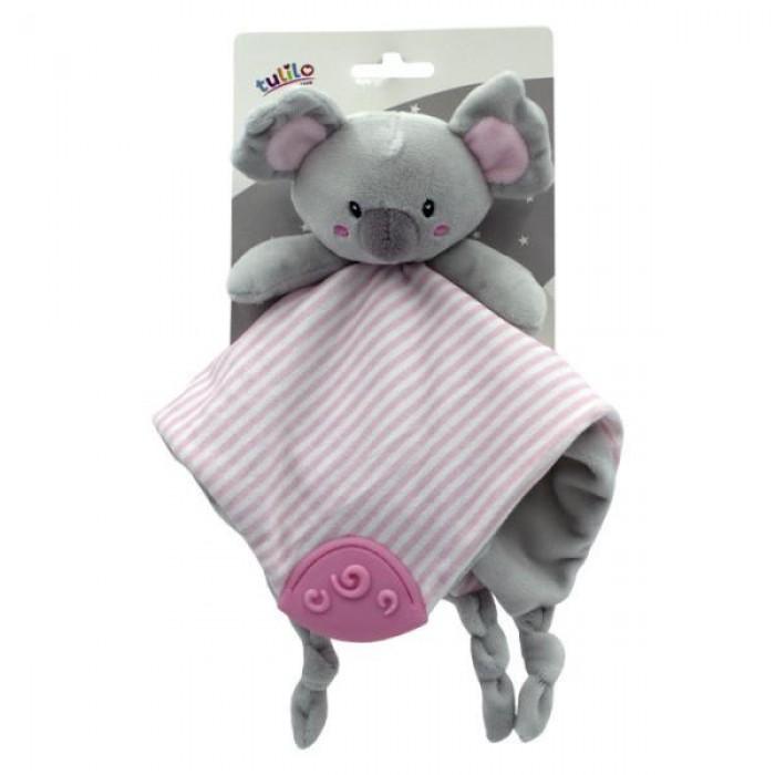 Игрушка-обнимашка мягкая плюшевая «Коала» 25см, розовая