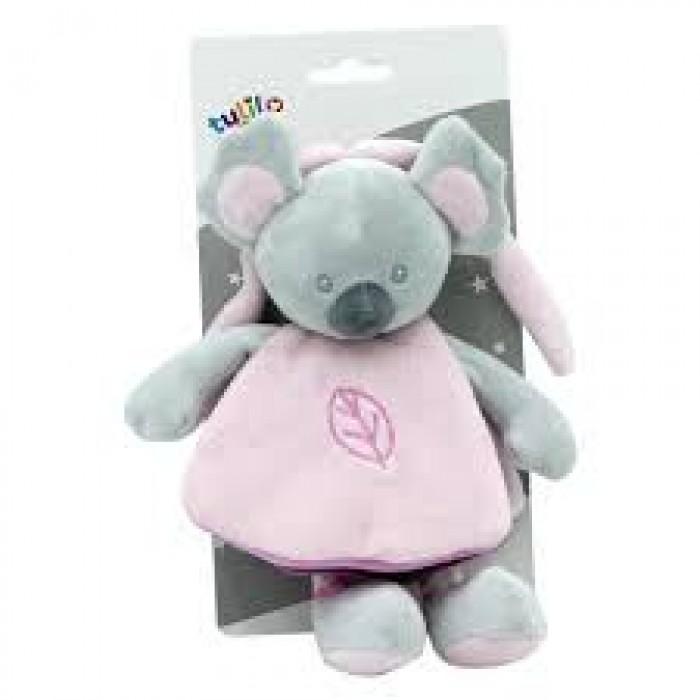 Книжечка плюшевая «Коала» 21см, розовая