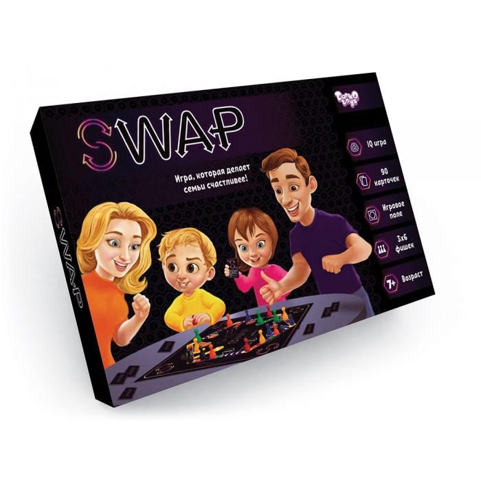 Игра настольная развлекательная «Swap», русский