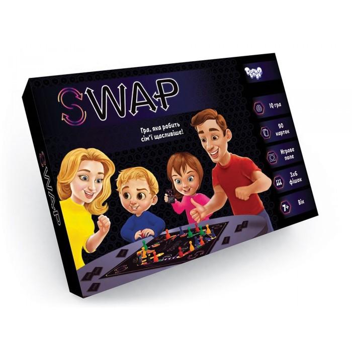 Игра настольная развлекательная «Swap», украинский