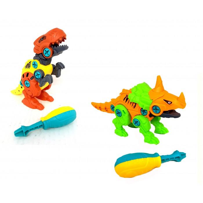 Конструктор динозавр с отверткой
