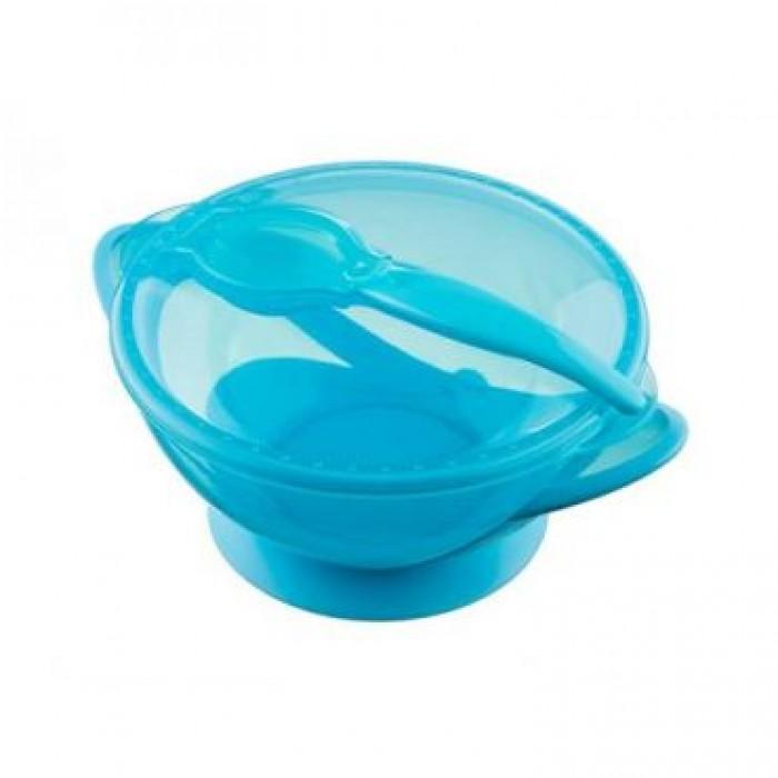 Набор детской посуды (на присоске)