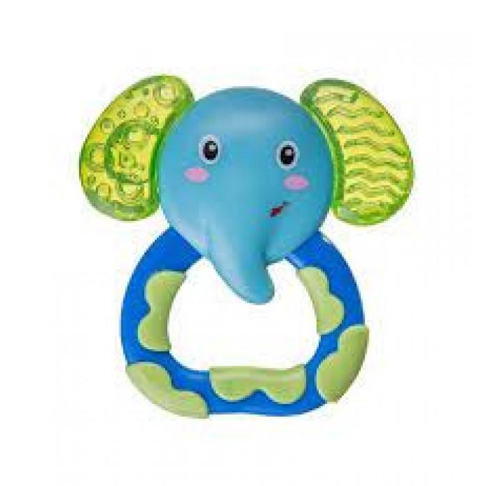 Погремушка-прорезыватель, слоник