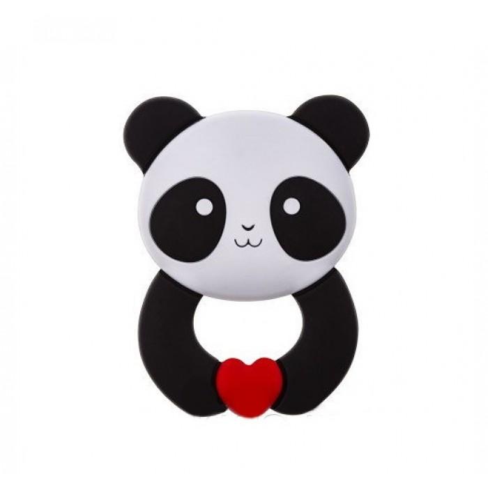 Прорезыватель силиконовый, панда