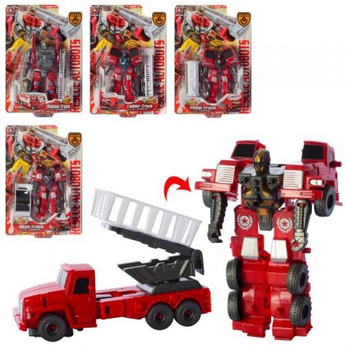 Трансформер 15см, робот+транспорт