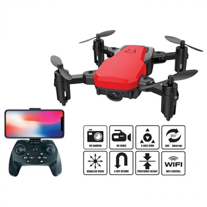 Квадрокоптер на р/у, складной с камерой, Wi-Fi, USB