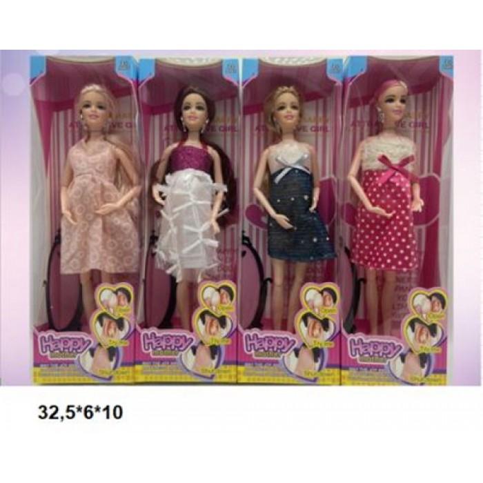 Кукла беременная 28см