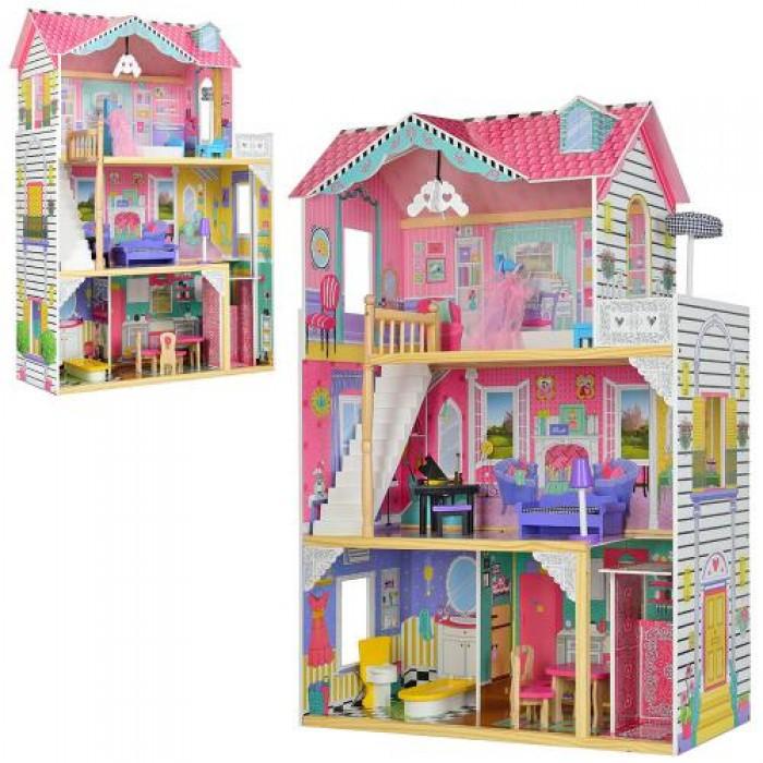 Домик деревянный 3 этажа