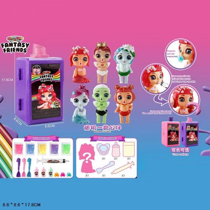 Кукла Poopsie Fantasy Friends со слаймом и аксессуарами