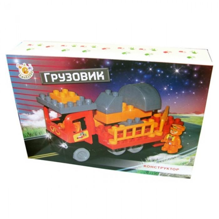 Конструктор «Вантажівка», 35 деталей