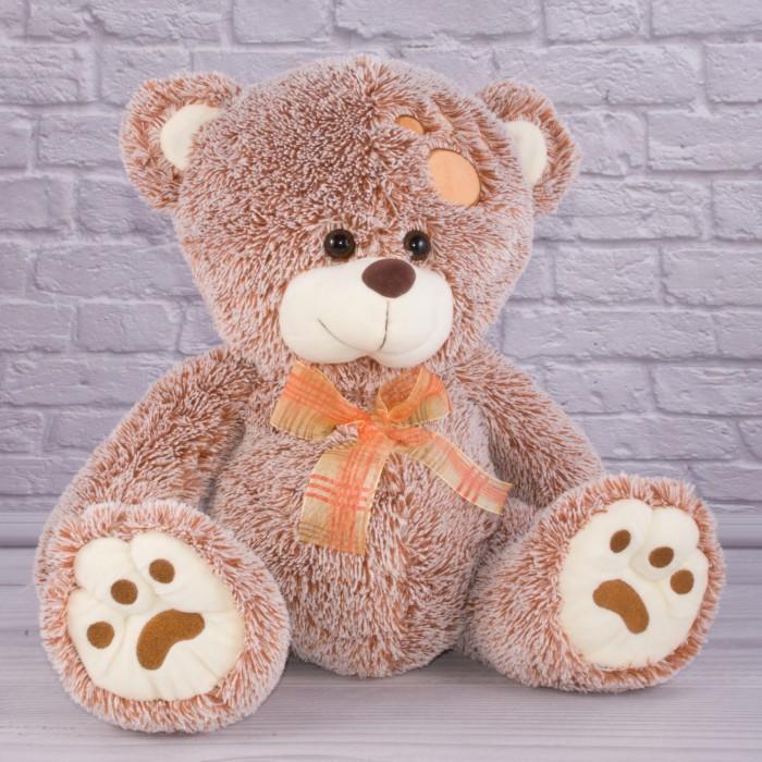 Игрушка мягкая Медведь «Баффи», муз., 35см