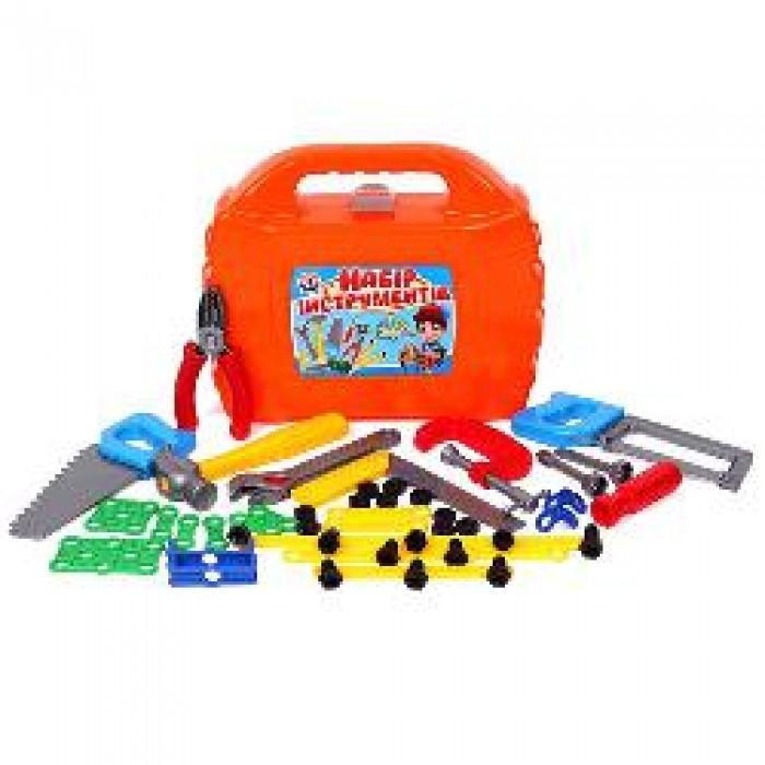 Набор инструментов, 46 предметов, в чемодане