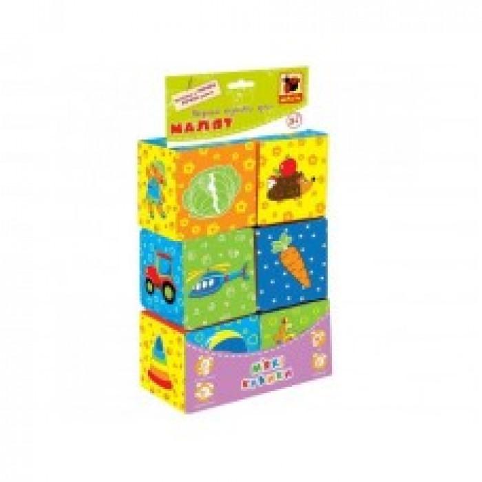 Набор мягких кубиков «Мой маленький мир»